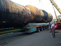 Цистерна 73,1 куб. м , вес 8,2тн ,диаметр 3м, длина 10770мм, стенка 10мм, транспортировка 2-х штук на одной ав