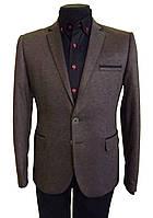 Мужской пиджак трикотажный приталенный № 47/42 - 8308, фото 1