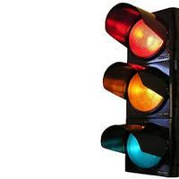 Светофоры поликарбонатные светодиодные, ламповые