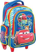 Рюкзак (ранец) школьный   Тачки на колёсиках