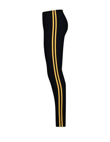 Узкие лосины для фитнеса длинные