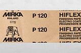 Шліфпапір червона MIRKA Hiflex Р 60 рулон (115мм*50м.), фото 4