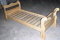 Кровать детская из натурального дерева. Лапочка. купить в кредит