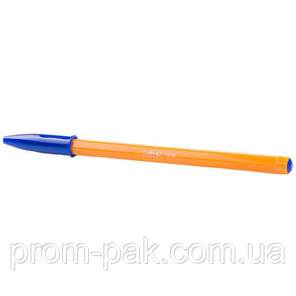 Шариковая ручка Bic orange синяя, фото 2