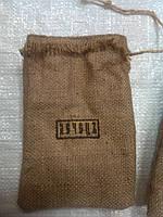 Мешки джутовые, декоративные, с вышевкой вашего логотипа