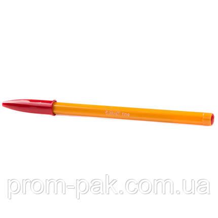 Кулькова ручка Bic orange червона, фото 2