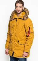 Куртка мужская зимняя Аляска Altitude, Parka (Альфа Индастриз) Альтитуде