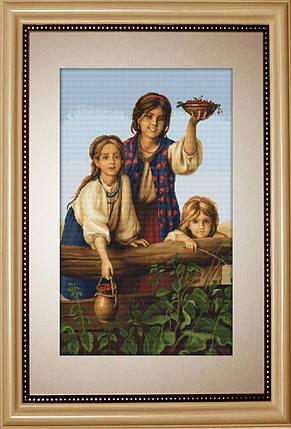 """Набор для вышивания нитками  """"Купите ягод"""", фото 2"""