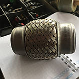 Гофра глушителя 45х100 (2-хслойная) Chery Amulet Чери Амулет, фото 3