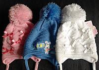 Шапочки для новорожденных Бантик