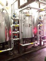 Теплоизоляция систем трубопровода и емкостей в цеху на пищевом предприятии