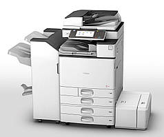Полноцветный МФУ Ricoh MP C3003SP формата а3. Сетевой принтер/сканер/копир.