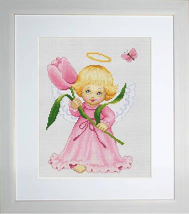 """Набор для вышивания нитками  """"Цветочек для мамы"""", фото 2"""