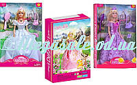 "Кукла Defa Lucy ""Принцесса"", 2 вида: музыка/свет, аксессуары"