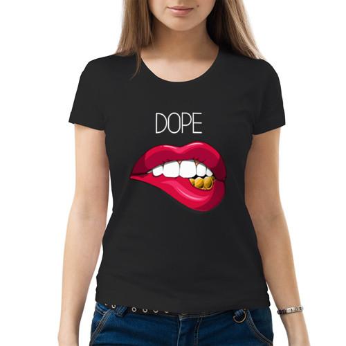 Футболка «Dope lips»