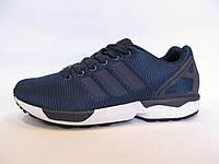 Кроссовки мужские  ADIDAS ZX FLUX текстиль, синие (адидас флюкс)р.41