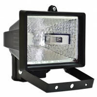 Прожектор галогенный Technics, 150 Вт, черный