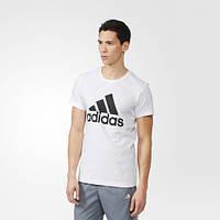 Футболка adidas с логотипом Logo S23015