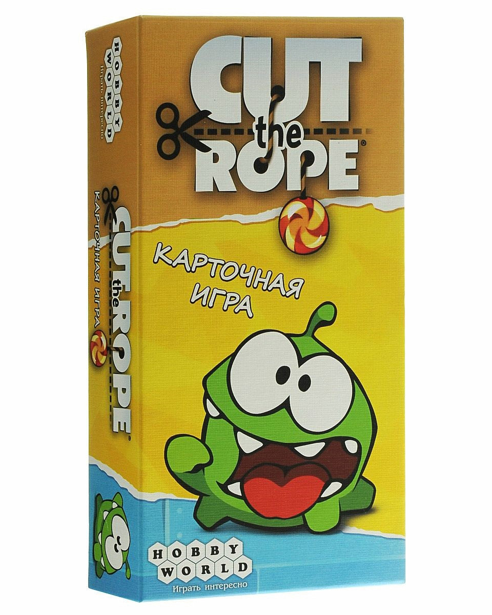 """Настольная игра """"Cut the Rope"""" Hobby World"""