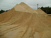 Песок (речной,овражный) с доставкой