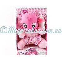 Интерактивная мягкая игрушка My Little Pony/Литл Пони: музыка + бутылочка