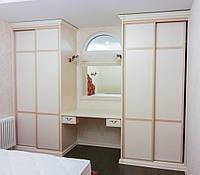 Шкаф-купе+туалетный столик Рим