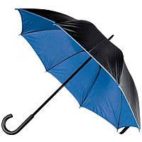 Зонт-трость, двухцветный в ассортименте