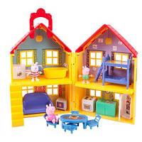 Домик свинки Пеппы Peppa Pig Play deluxe house с 3 фигурками оригинал