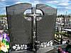 Двойные памятники из гранита купить (Образцы №447)