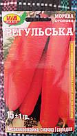 """Семена моркови """"Регульская"""" ТМ VIA-плюс, Польша (упаковка 10 пачек по 15 г)"""
