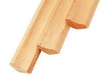 Угол деревянный внутренний 25х25х4000 Сосна