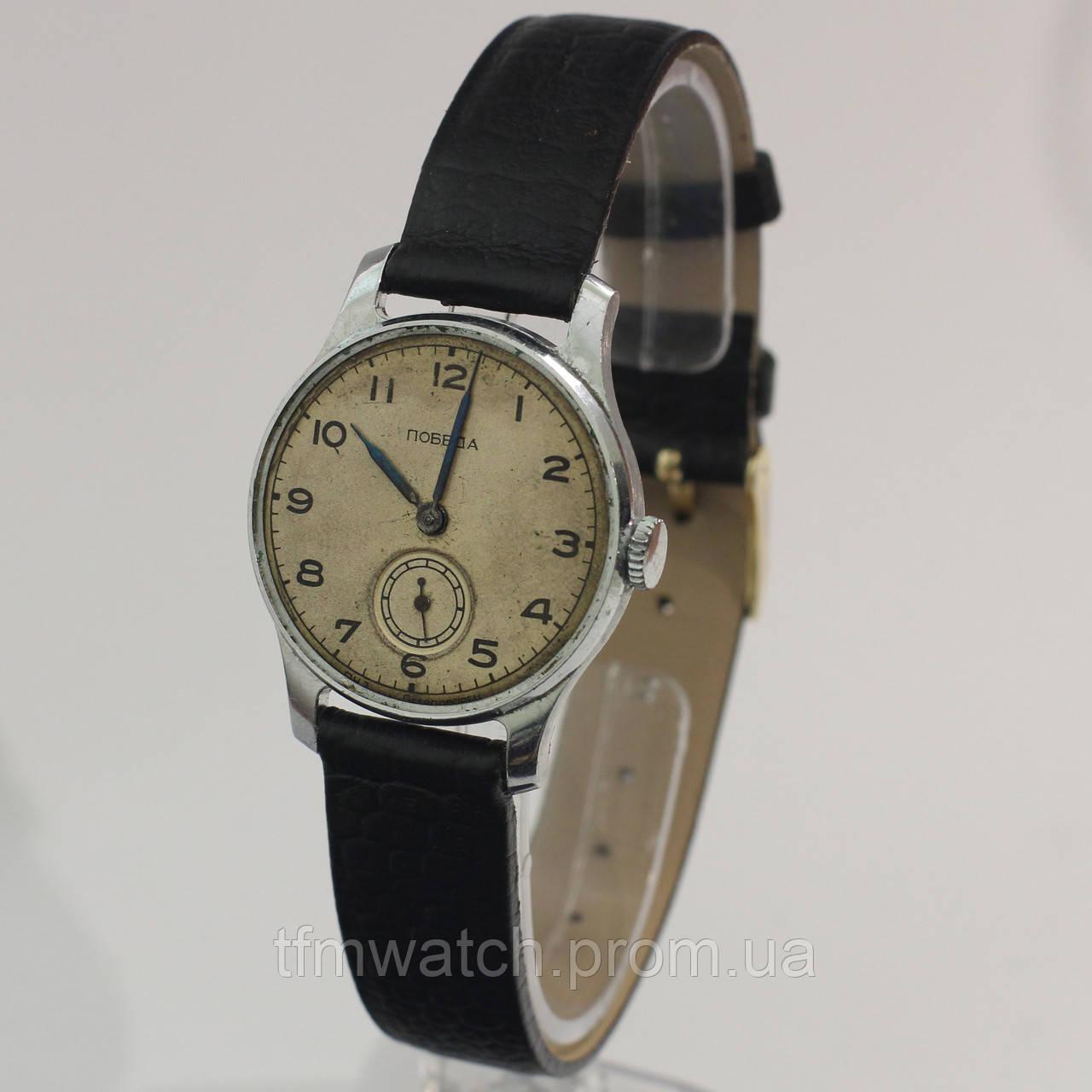 Победа старые советские часы