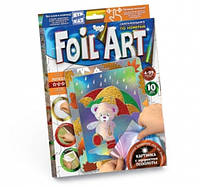 Набор креативного творчества аппликация цветной фольгой FOIL ART,  FAR-01-03