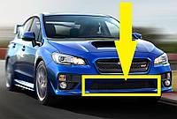 Центральная решетка в передний бампер Subaru Impreza WRX и WRX STI 2014-17 новая оригинальная