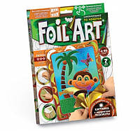 Набор креативного творчества аппликация цветной фольгой FOIL ART,  FAR-01-05