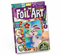 Набор креативного творчества аппликация цветной фольгой FOIL ART, FAR-01-07