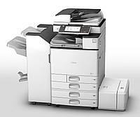 Полноцветный МФУ Ricoh MP C3003ZSP формата а3 с удобной smart-panel. Сетевой принтер/сканер/копир.
