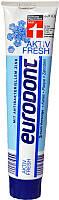 Зубная паста Eurodont Aktiv Fresh 125 мл Германия
