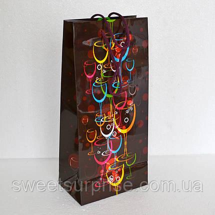Подарочный пакет для спиртного, фото 2