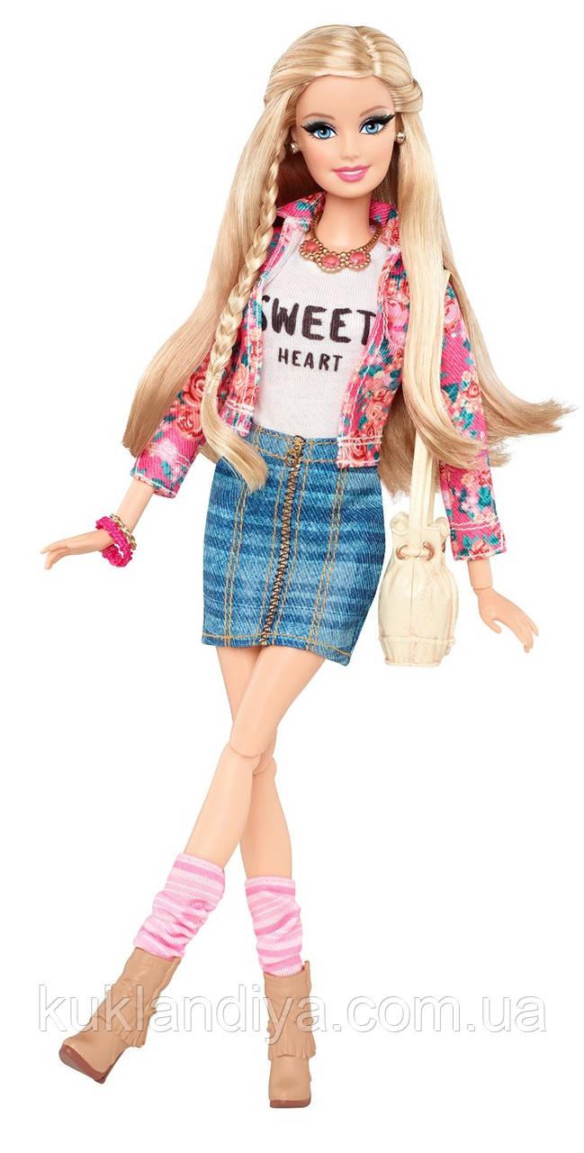 Кукла Барби стиль Де-люкс в цветочном жакете - Barbie Style