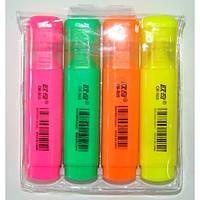 Набор маркеров текстовых флуоресцентных OR505-4-0116 (4 шт)