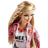 Кукла Барби стиль Де-люкс в цветочном жакете - Barbie Style, фото 6