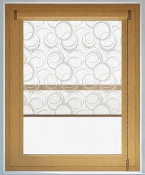 Кассетные шторы на окна золотой дуб, фото 2
