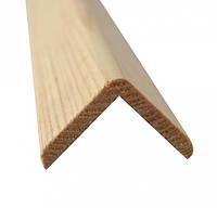 Угол деревянный наружный 30х30х4000 Сосна