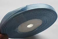 Лента ширина  0,6 мм. атласная катушка 32,8 м\36 ярдов голубая
