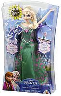 Кукла Эльза Дисней Холодное сердце поющая (Disney Frozen Fever Singing Elsa Doll)
