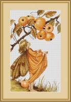 """Набор для вышивания нитками  """"Дикая яблоня"""", фото 2"""