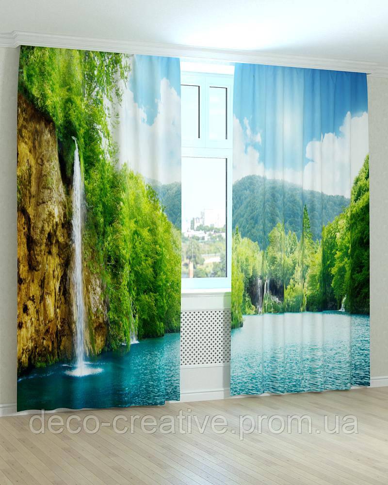 Фотошторы природа водопады