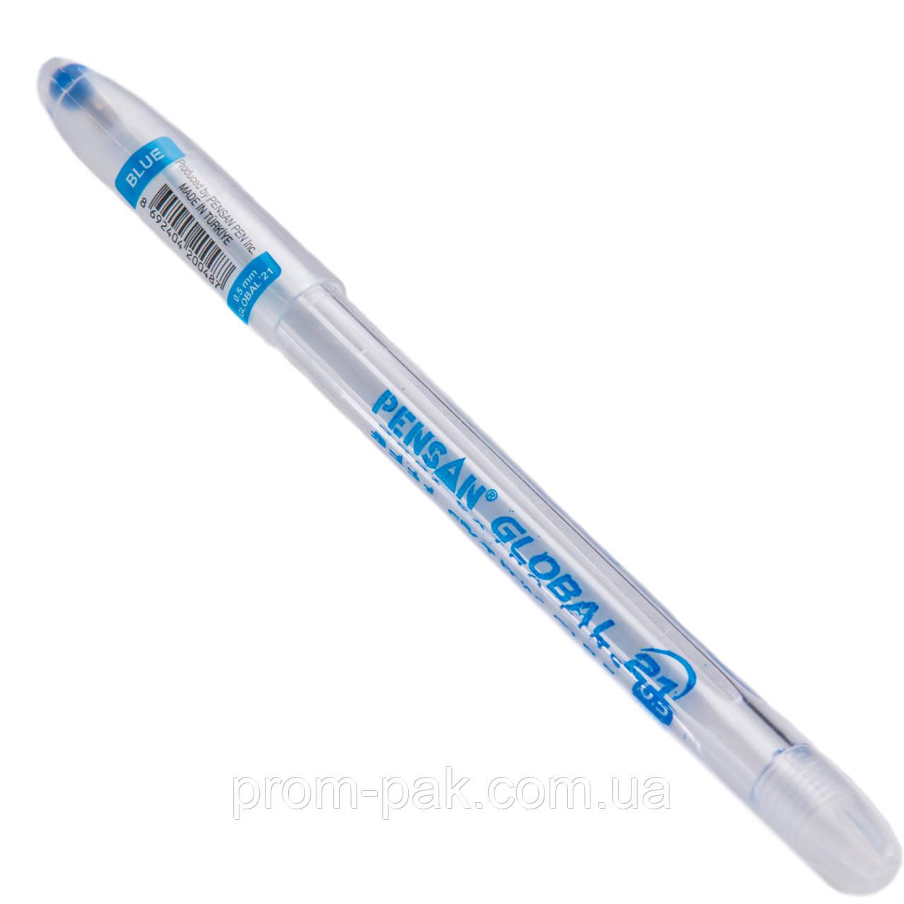 Шариковая ручка Global синяя