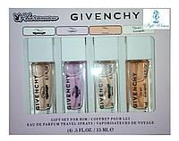 Парфюмерный набор с феромонами Givenchy Живанши мини 4 по 15мл женский топ аромат